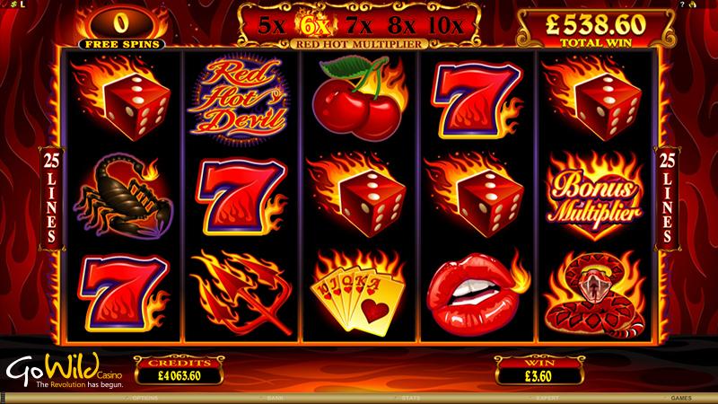 Red Hot Devil Pokies