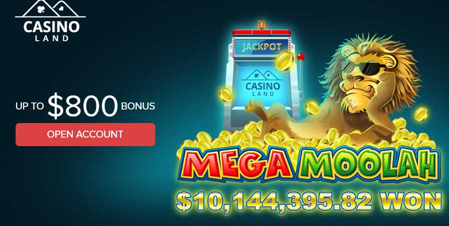 Casinoland Jackpot Winner